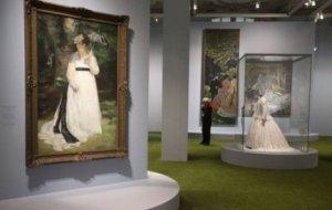 2. Vista de la exposición L´impressionisme et la mode, en el Musée d´Orsay de París